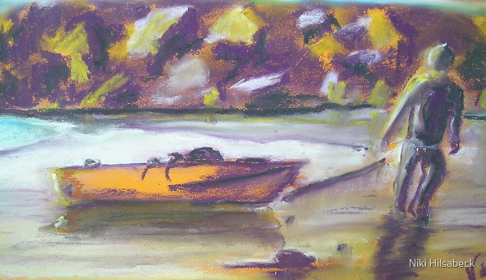 Homeward Bound (Pastel) by Niki Hilsabeck