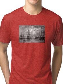 Civil War Ships Tri-blend T-Shirt