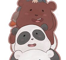 We Bare Bears (with Chloe Park!) by shinkneepark