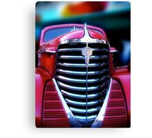 old red olds Canvas Print