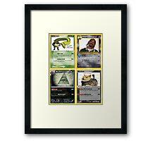 Mlg Pokemon Cards Framed Print