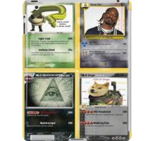 Mlg Pokemon Cards iPad Case/Skin