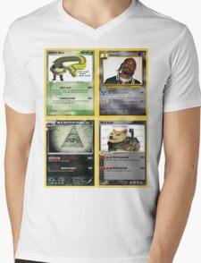 Mlg Pokemon Cards Mens V-Neck T-Shirt