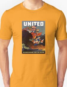The United Nations Fight For Freedom T-Shirt