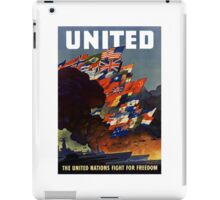 The United Nations Fight For Freedom iPad Case/Skin