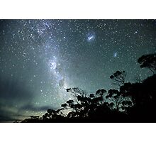 Milky Way from a very dark place Photographic Print