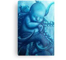 Aqua Baby Metal Print