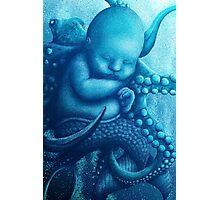 Aqua Baby Photographic Print