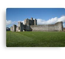 Norman castle Canvas Print