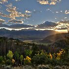 Sunset from Ute Pass by Jeanne Frasse