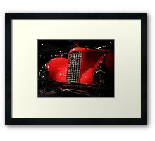 Red Cadillac 2 Framed Print