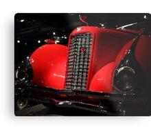 Red Cadillac 2 Metal Print
