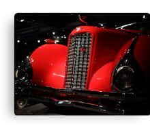 Red Cadillac 2 Canvas Print