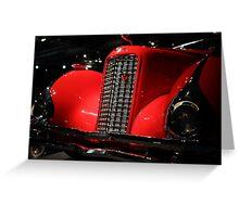 Red Cadillac 2 Greeting Card