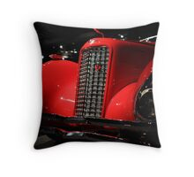 Red Cadillac 2 Throw Pillow