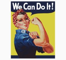 Rosie The Riveter - We Can Do It T-Shirt