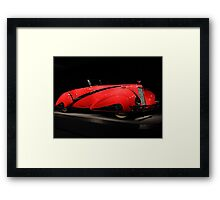 Red Cadillac 4 Framed Print