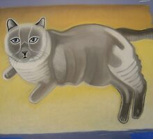 commision / not for sale - Fat Cat by Drew  Lawson