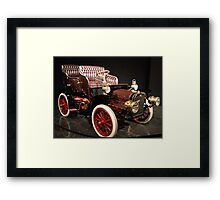 Little Old Cadillac Framed Print
