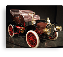 Little Old Cadillac Canvas Print