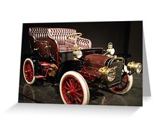 Little Old Cadillac Greeting Card