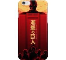 Shingeki no Kyojin - Despair iPhone Case/Skin