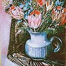 Flowers in Jug by Mrswillow
