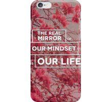 Mirror of life iPhone Case/Skin