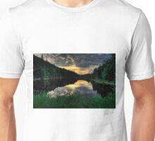 Ontario Lake Sunset Unisex T-Shirt