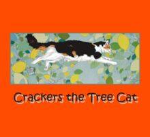 Crackers the Tree Cat Kids Tee