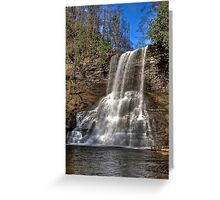 The Cascades of Virginia Greeting Card