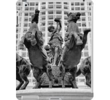 Giant statue in Royal City Square, Hanoi iPad Case/Skin