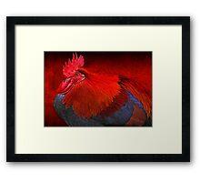 """The Scarlet Dawn ..."" Framed Print"