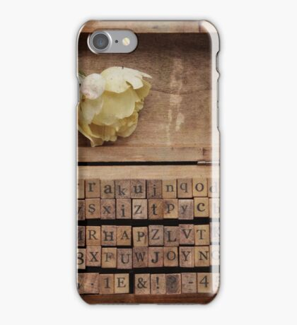 Beyond the words ... iPhone Case/Skin