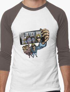 THEY LIVE WE SELFIE Men's Baseball ¾ T-Shirt