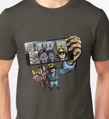 THEY LIVE WE SELFIE Unisex T-Shirt