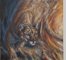 Lightstalker - Cougar by john mcfaul