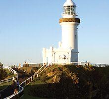 Byron Bay Lighthouse by Blake  Hyland