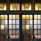Castle Windows by Sarah Butcher