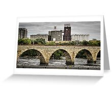 Mill City Greeting Card