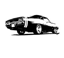 Dodge Charger 1968 by garts