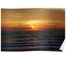 Sunrise in old Nags Head Poster