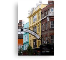 Carnaby Street Canvas Print