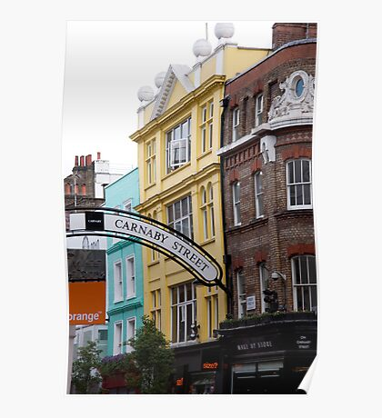 Carnaby Street Poster