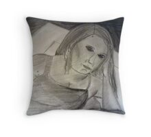 Charcoal Reflections Throw Pillow