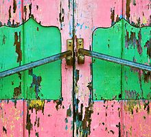Pink & Green by Valerie Rosen