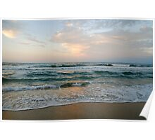 cotton candy sunset - nags head Poster
