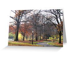 Trees of Autumn II Greeting Card