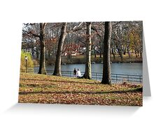 Trees of Autumn IV Greeting Card