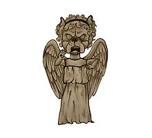 Dr Who- Weeping Angel x French Bulldog by Liddle-Ideas